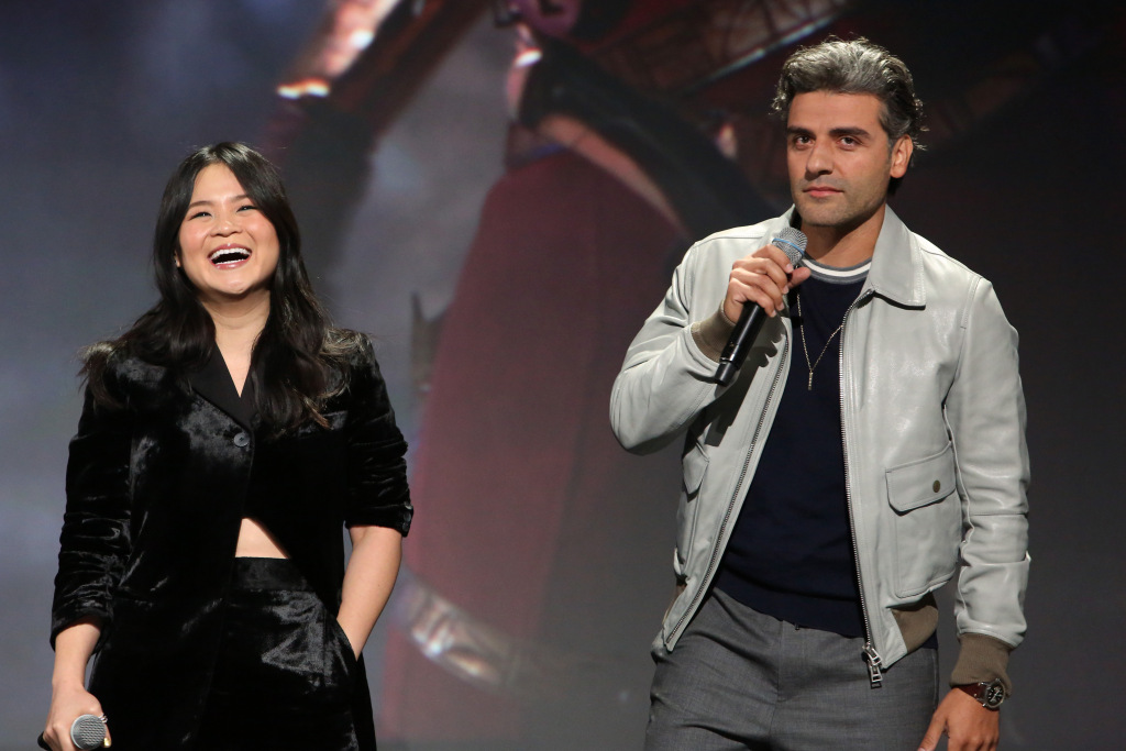 Kelly Marie Tran and Oscar Isaac of 'Star Wars: The Rise of Skywalker'