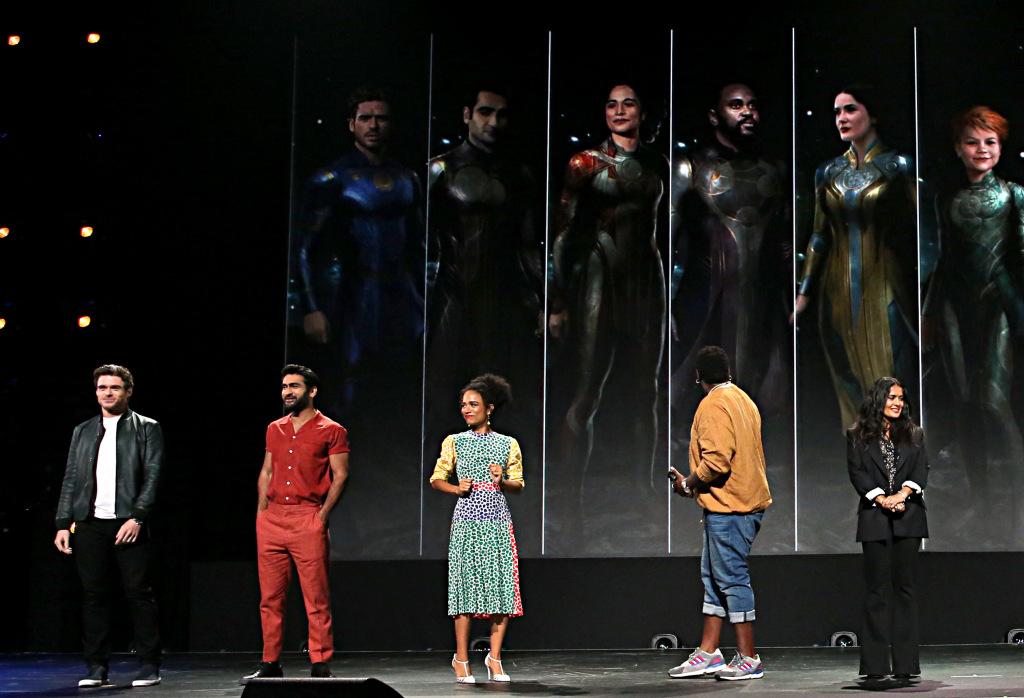 Eternals Marvel Disney D23