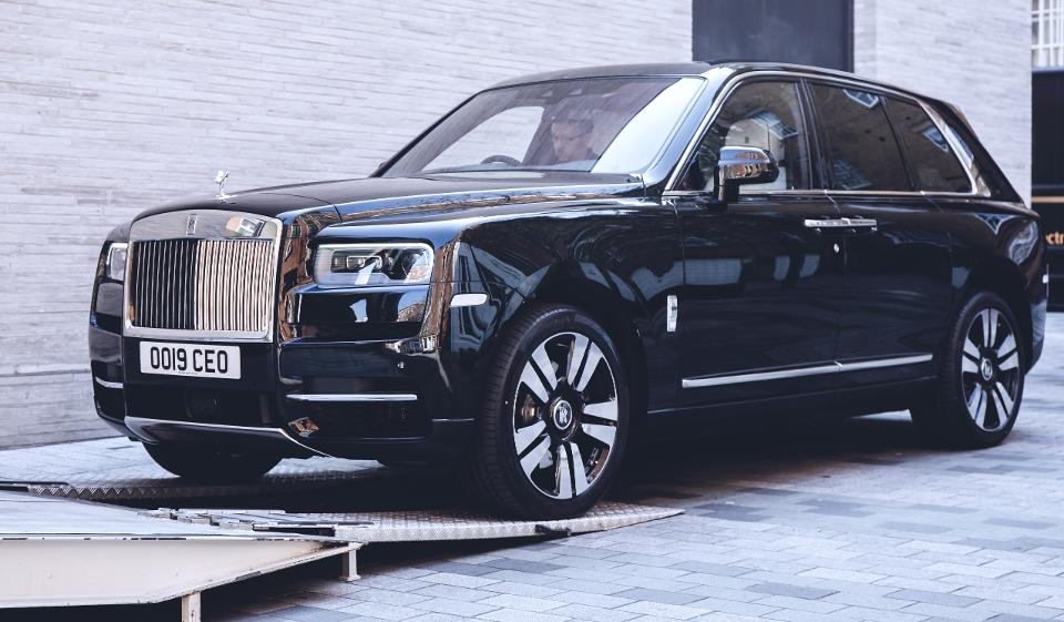 The Rolls Royce Cullinan
