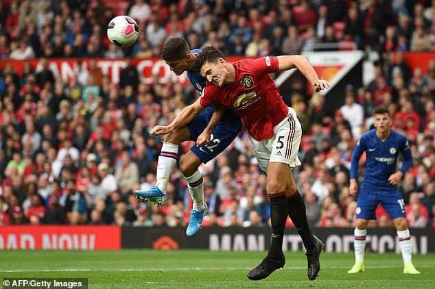 The centre-back put in a superb debut display as United beat Chelsea 4-0 last Sunday