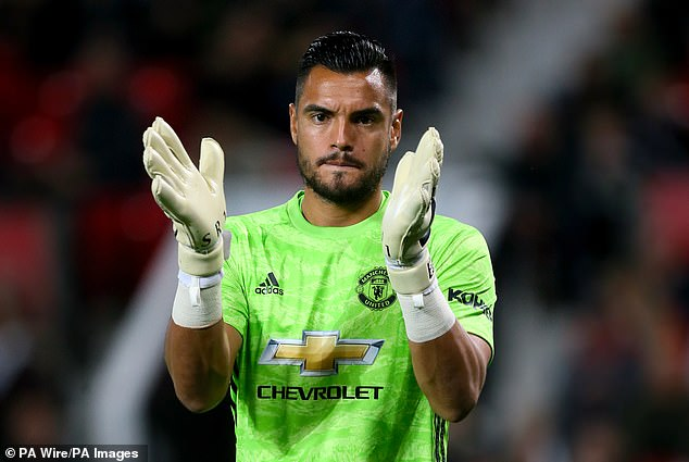 Sergio Romero has the confidence of Solskjaer, who believes the goalkeeper is fitter than ever