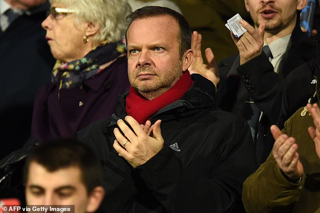 The United manager has become emboldened after backing from Ed Woodward (pictured)