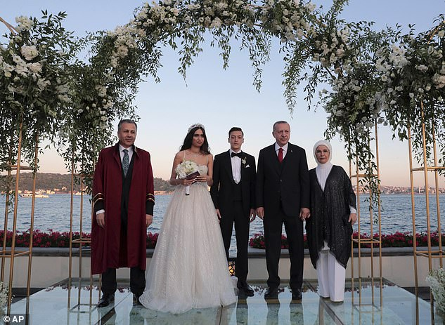 Ozil got married on June 7 in Istanbul and Turkey's president was there in attendance