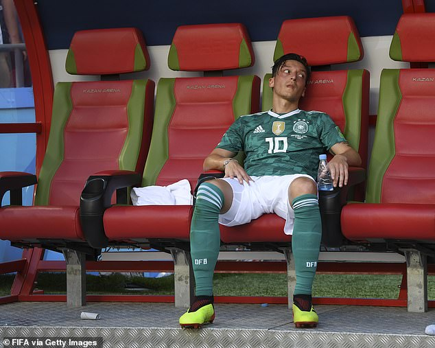 And for Germany, chances of Ozil being handed a call-up in the near future are very bleak