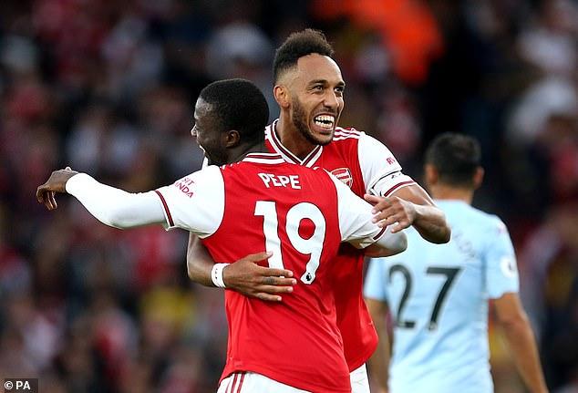 Arsenal prefer a pacy attack including Nicolas Pepe and Pierre-Emerick Aubameyang