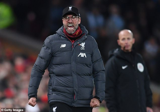 Jurgen Klopp has urged Liverpool's players to embrace their position as title favourites