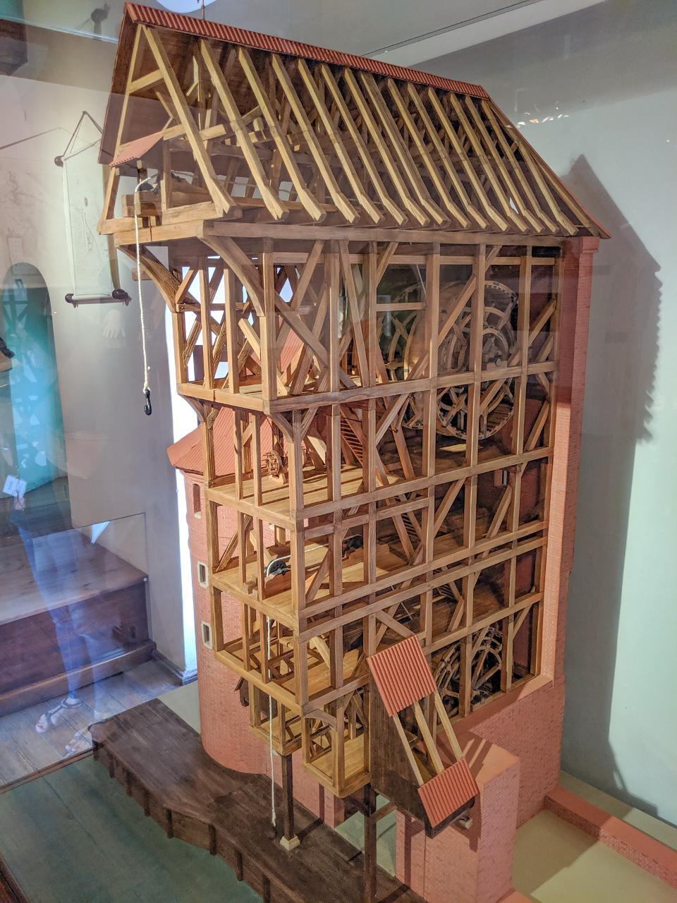 Inside the Gdansk Crane