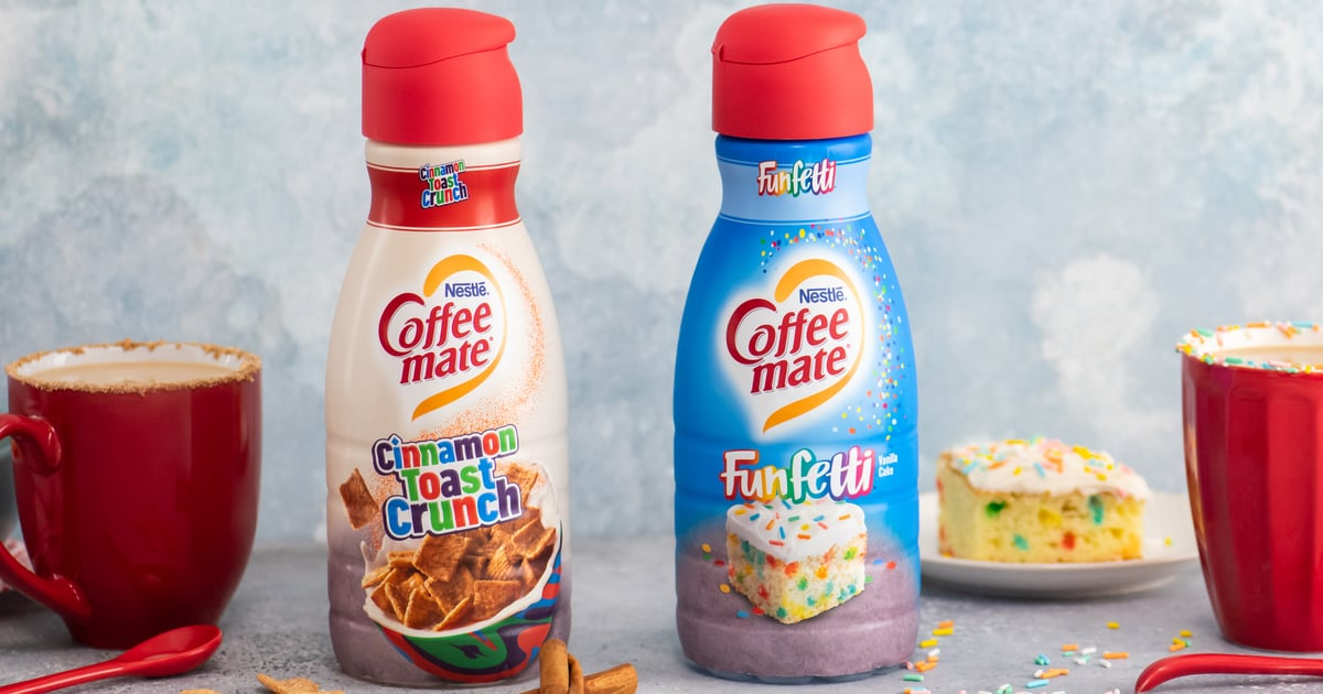 Coffee-Mate Is Launching Cinnamon Toast Crunch and Funfetti Creamers in the New Year ...