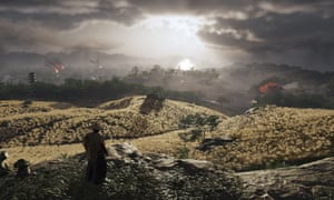 Visual fidelity … Ghost of Tsushima on PS4.