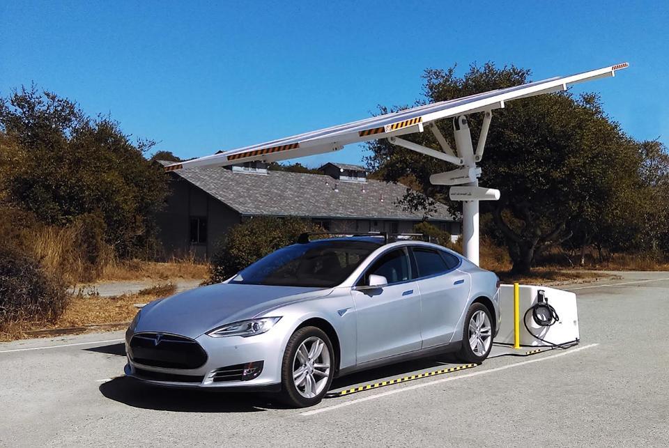 Envision Solar EV Arc Solar Charger.