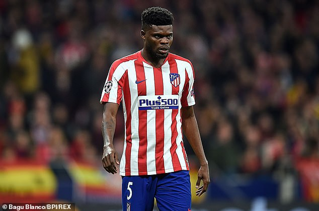 Arsenal are prepared to meet the release clause of Atletico Madrid midfielder Thomas Partey