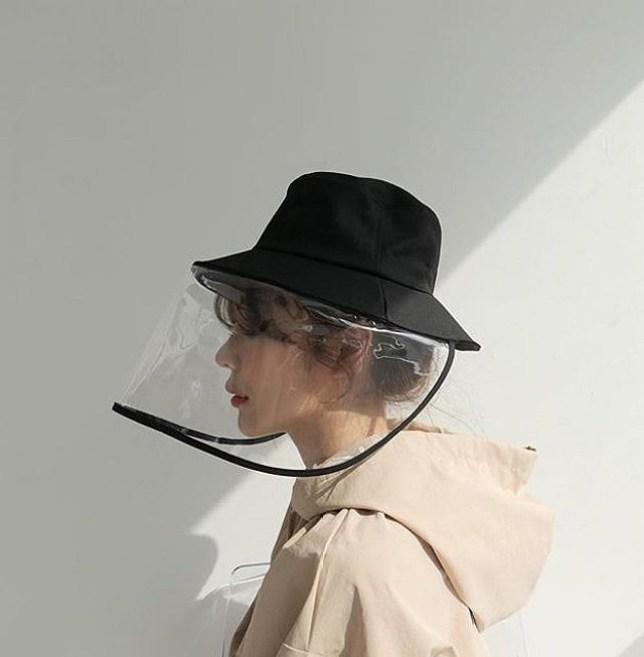 Coronavirus is making the visor bucket hat cool