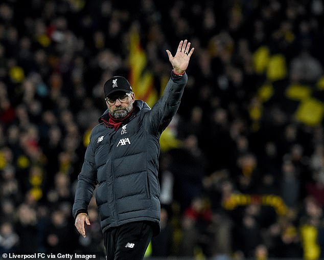 Liverpool boss Jurgen Klopp says his side will 'go again' after their shock defeat to Watford