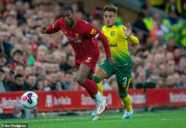 Liverpool (left) and Norwich go head-to-head in the Premier League once again on Saturday