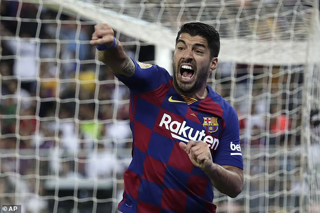 Luis Suarez says he has a clause in his contract that could trigger a new deal next season