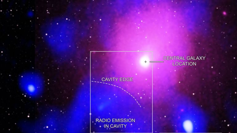 Scientists have observed as the biggest explosion in the Universe that occurred in the Ophiuchus galaxy cluster