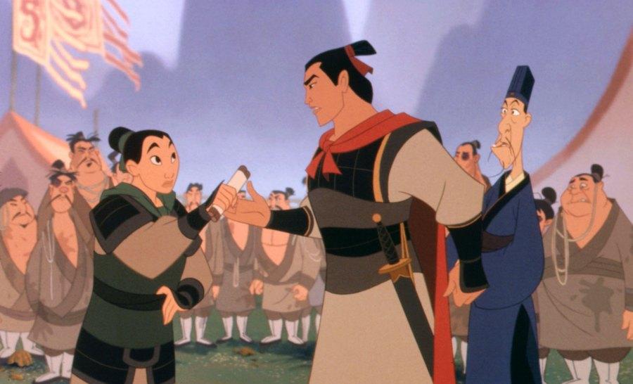 Mulan Disney Cartoon Movie