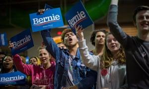 Bernie Sanders supporters.