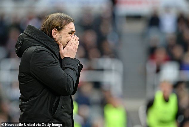 Daniel Farke's Norwich hold a Premier League-worst 16 per cent win rate in this term