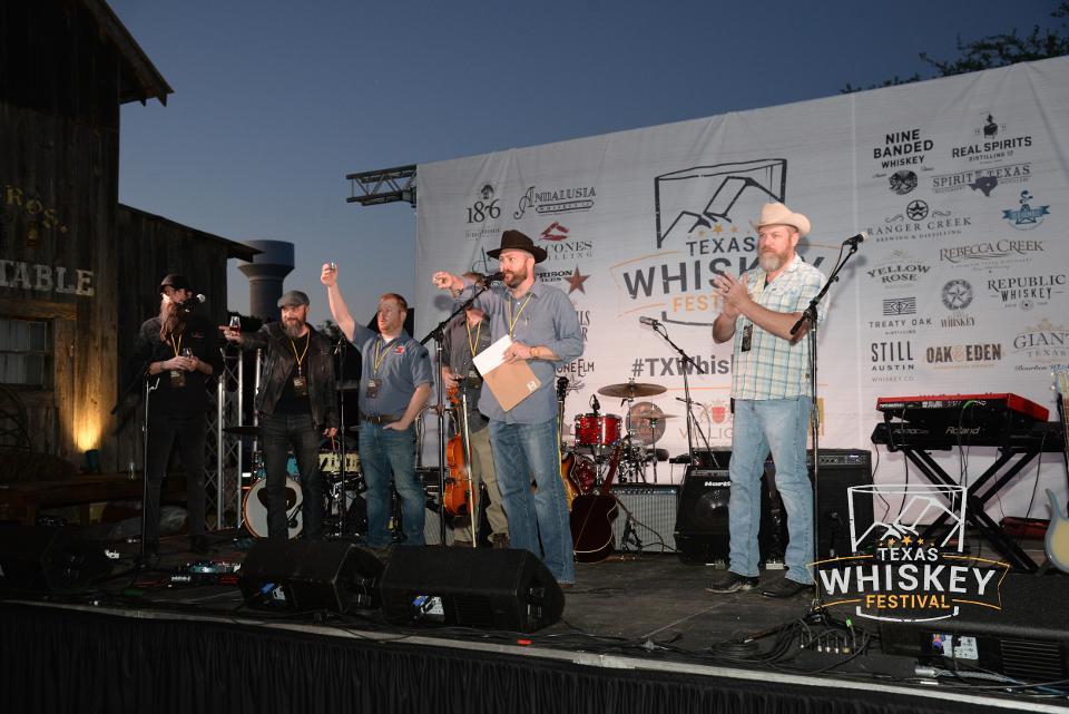 Texas Whiskey Festival stage