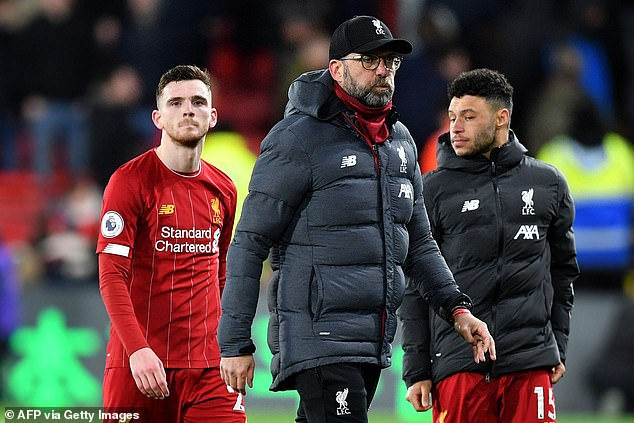 Klopp says his side can play 'free football' again after losing their unbeaten record on Saturday