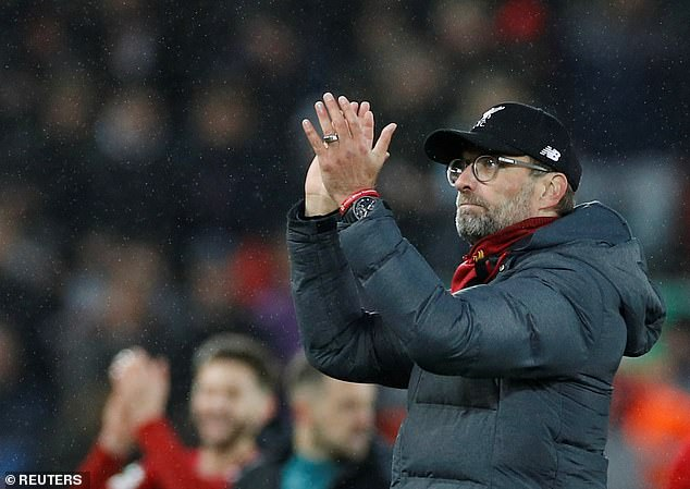 In contrast, Jurgen Klopp's all-conquering Liverpool side boast a 96 per cent win record