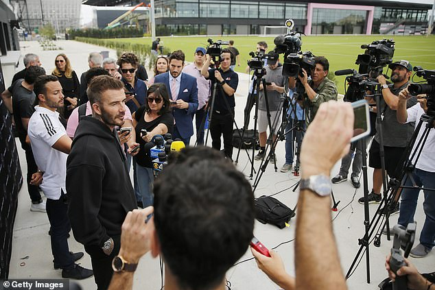 Beckham has been the figurehead of the project, but attention will finally now turn to the pitch