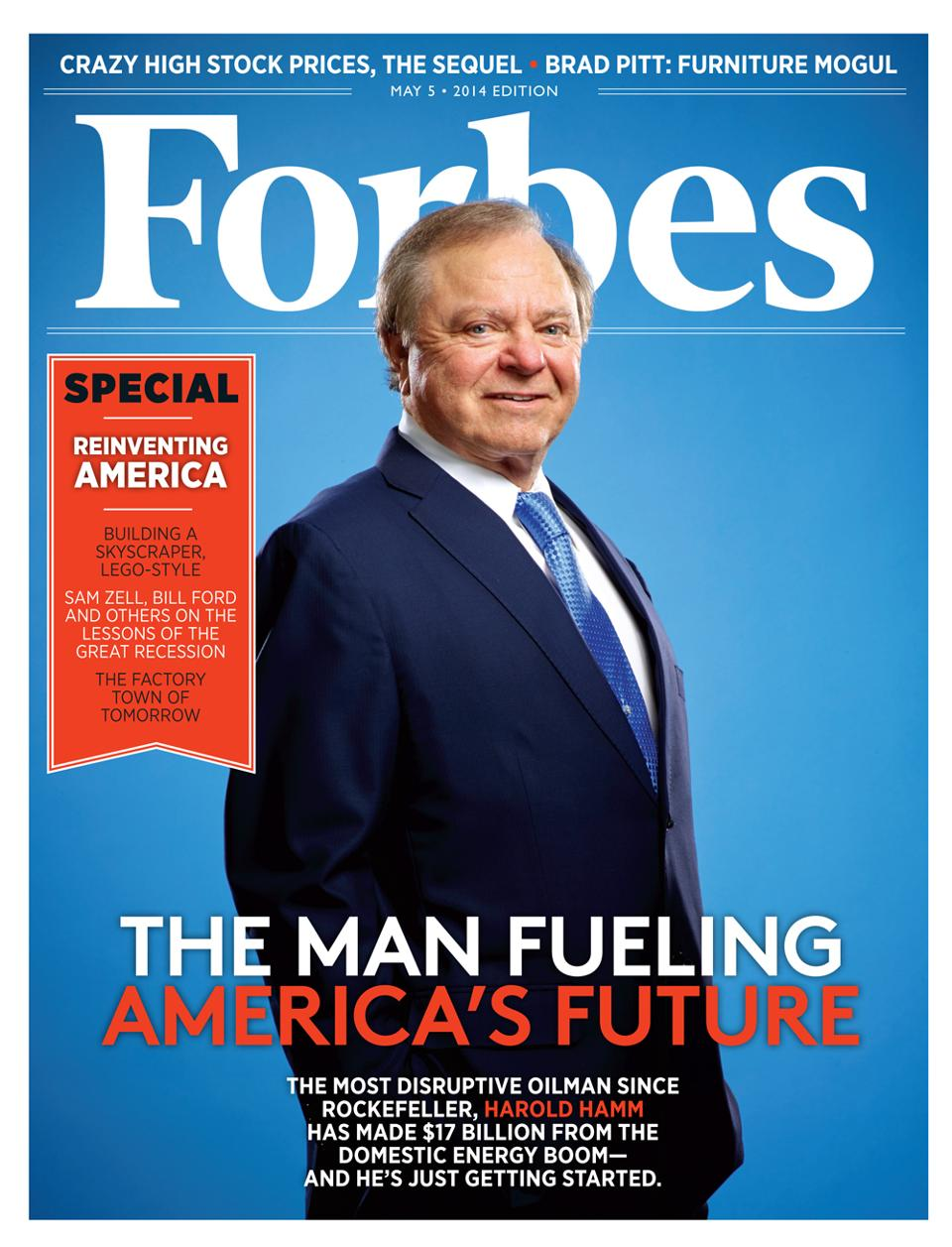 Forbes cover 2014.