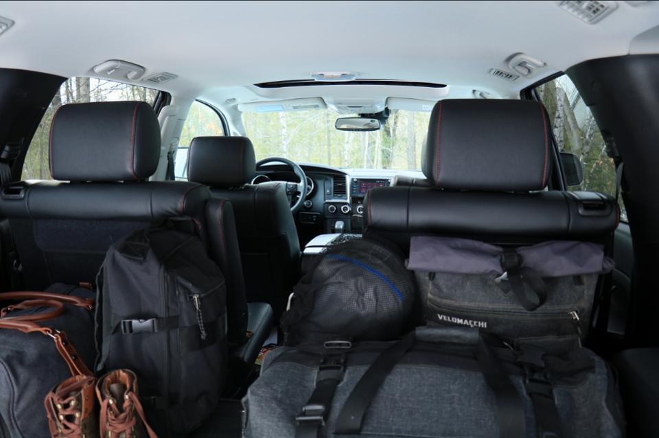 2020 Toyota Squoia TRD Pro cargo space