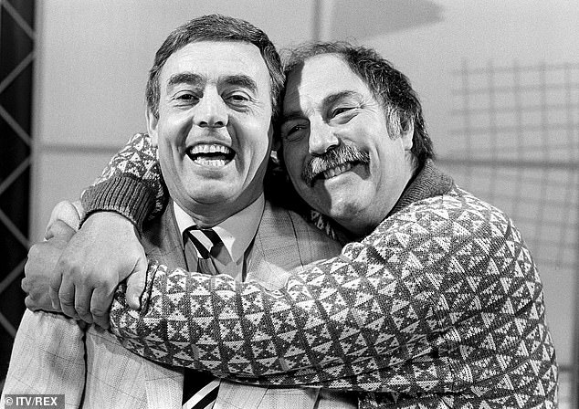 Saturday fixture: Ian St John with Jimmy Greaves was a lunchtime staple in our house