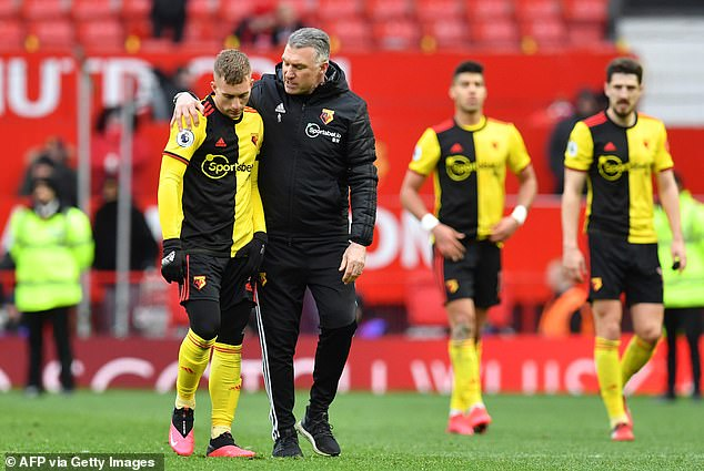 Pearson's Watford are on a winless run of five in the league and are in the drop zone in 19th