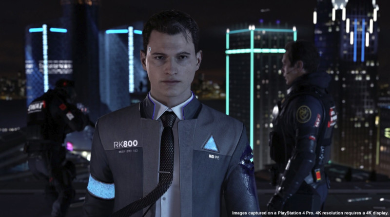Detroit: Become Human starts with Connor the police negotiator.
