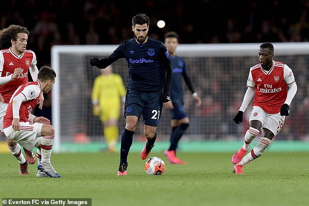 The midfielder has made an incredible comeback and returned against Arsenal on Sunday