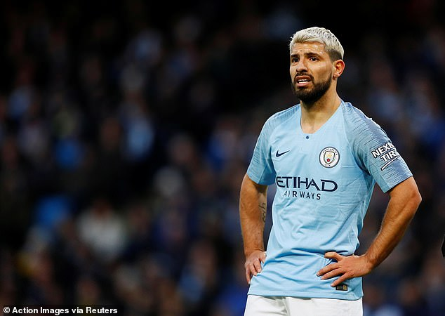 Sergio Aguero may not play for City in the Champions League again following this season