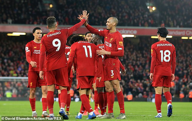 Liverpool are flying high in the Premier League as they continue to romp away towards the title