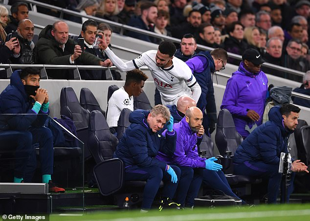 Alli has gone off the boil recently and was furious with his own performance against RB Leipzig
