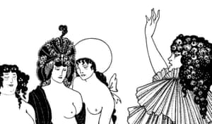 Love defeating death … a detail from Lysistrata Haranguing the Athenian Women.