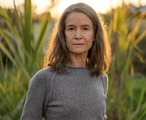 Daniela Soleri, daughter of architect Paolo Soleri, in Santa Barbara, California, Feb 2020