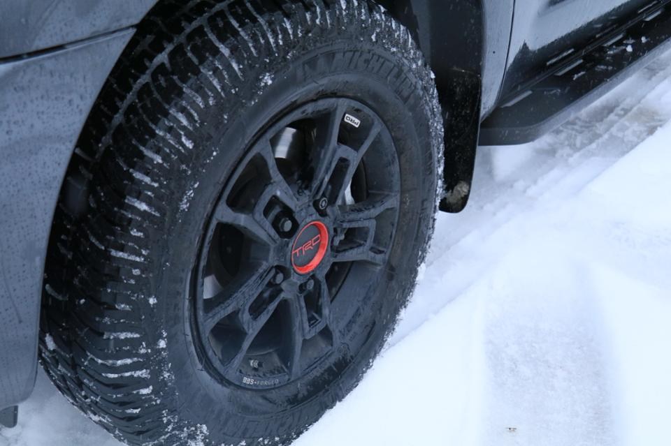 2020 Toyota Sequoia TRD Pro wheels