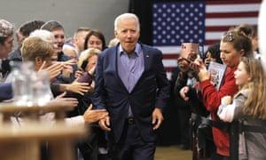 Joe Biden: might be back.