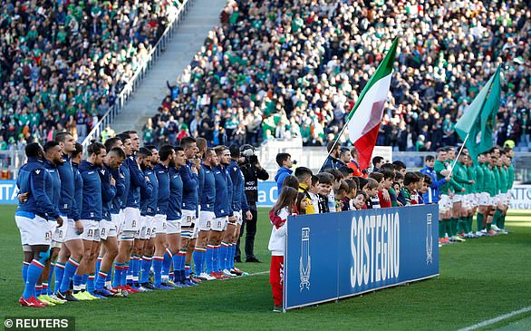 There are now concerns that England's visit to Italy in the Six Nations could be in serious doubt