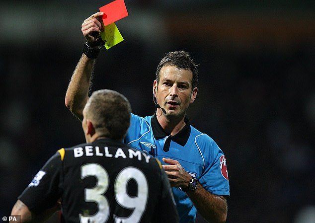 Craig Bellamy would take what he said to referees as close to the line as possible