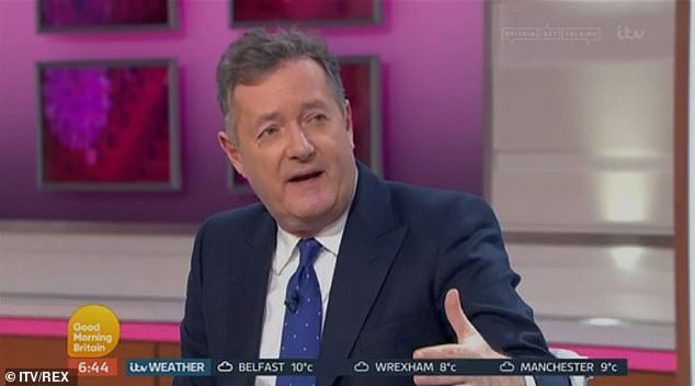 Piers Morgan has slammed Jack Grealish after he allegedly flouted lockdown rules on Saturday
