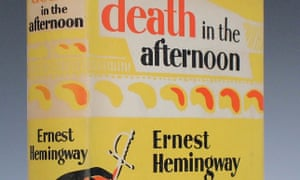 Death in the Afternoon by Ernest Hemingway. 1932 Jonathan Cape edition.
