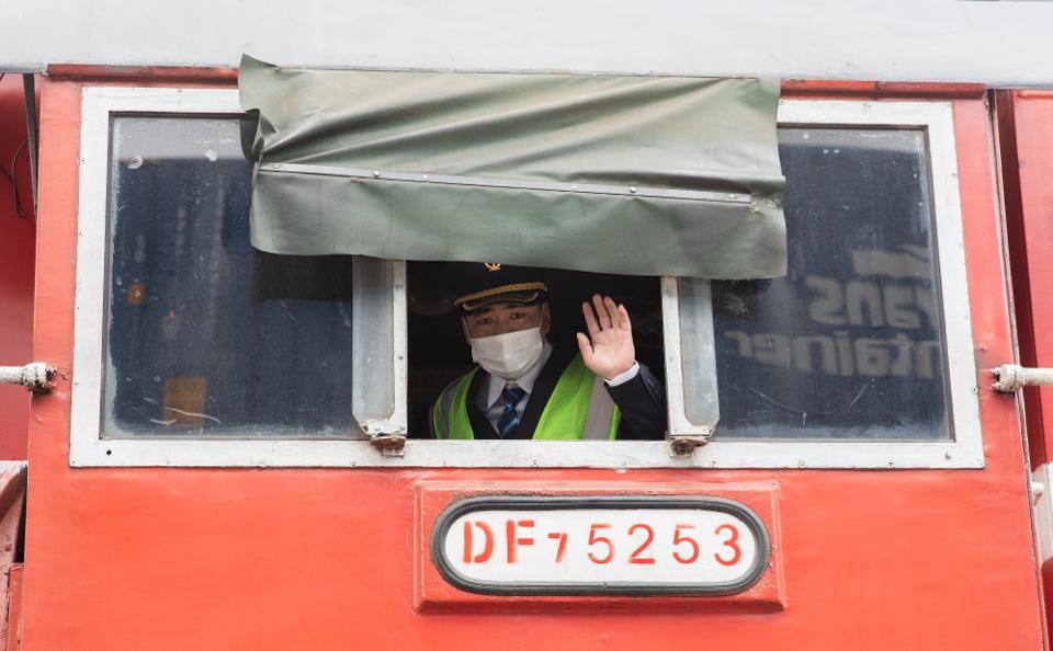 China Europe Train (Wuhan) Resume Operation