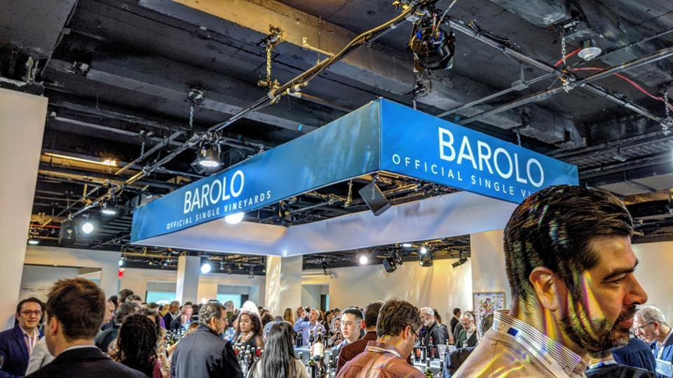 The Barolo Single Vineyard Section at the Barolo & Barbaresco World Opening Grand Tasting in NYC
