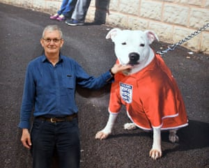 Martin Parr, pictured at his Only Human exhibition in 2019.