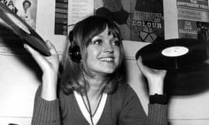 Annie Nightingale in 1970.