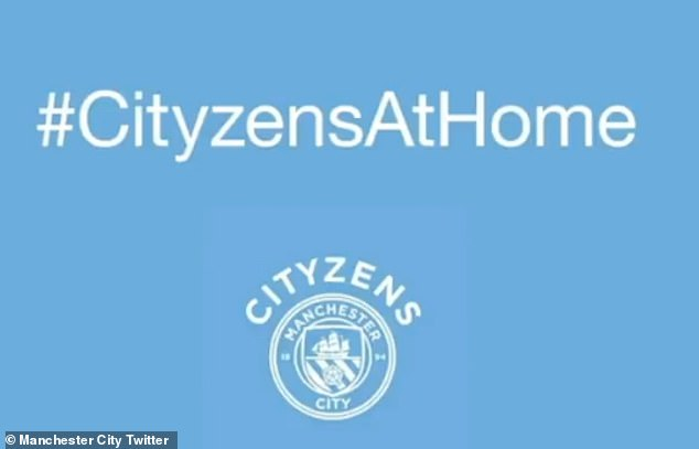 Guardiola's video message came as the club launched the new 'Cityzens At Home' website