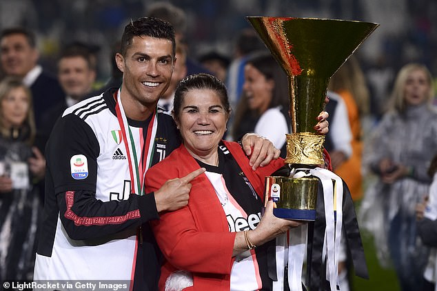 Ronaldo's mother Dolores Aveirowas rushed to hospital on March 3 after suffering a stroke